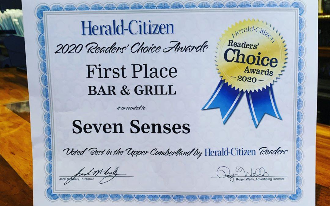 Cookeville, Seven Senses, 7 senses, herald citizen, best